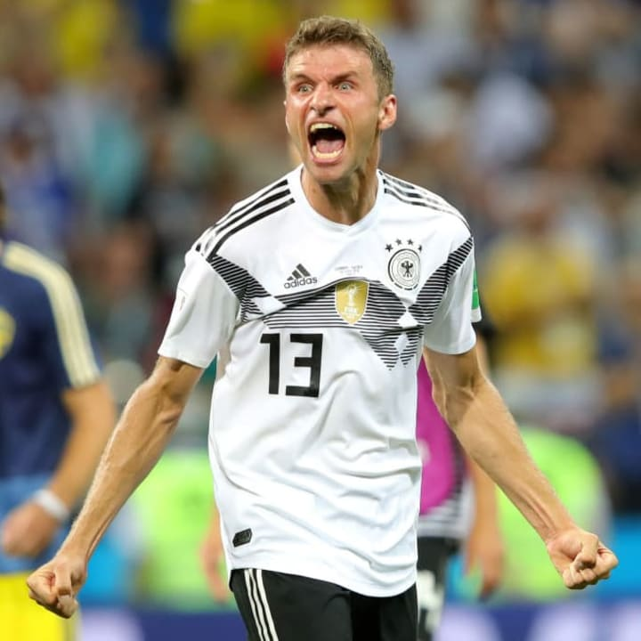 Thomas Muller is back with Germany