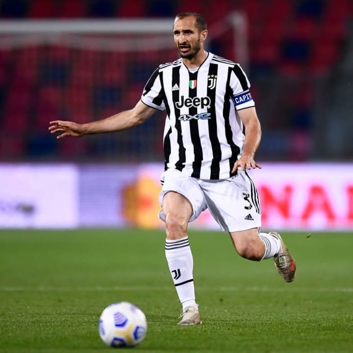 Giorgio Chiellini's contract with Juventus has now expired
