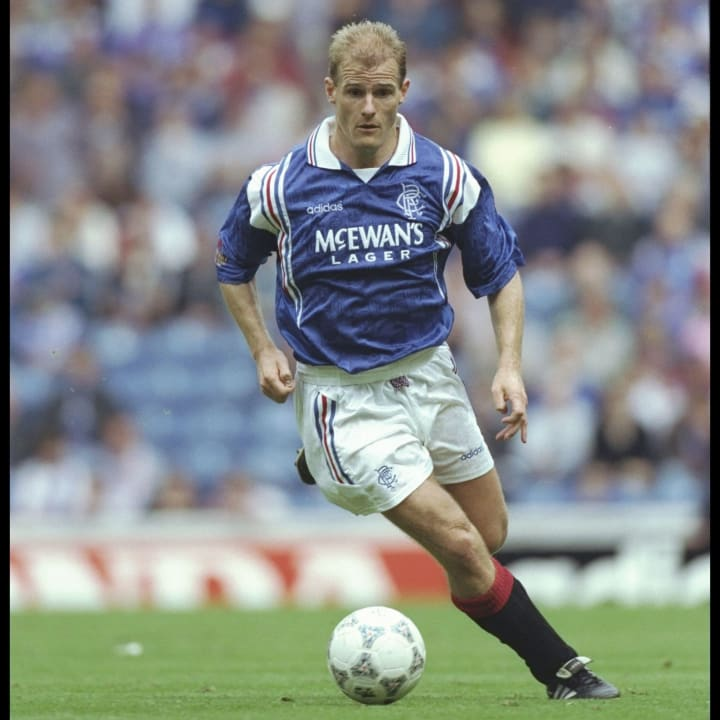 Gordon Durie of Rangers in action