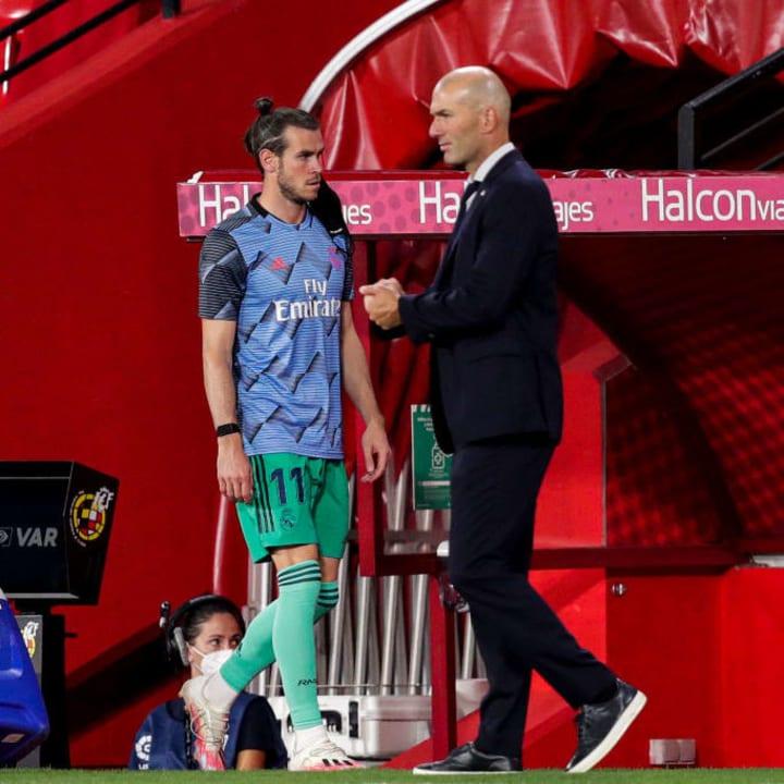 Gareth Bale and Zinedine Zidane endured a turbulent relationship