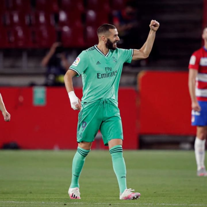 Benzema remains one of the world's top strikers