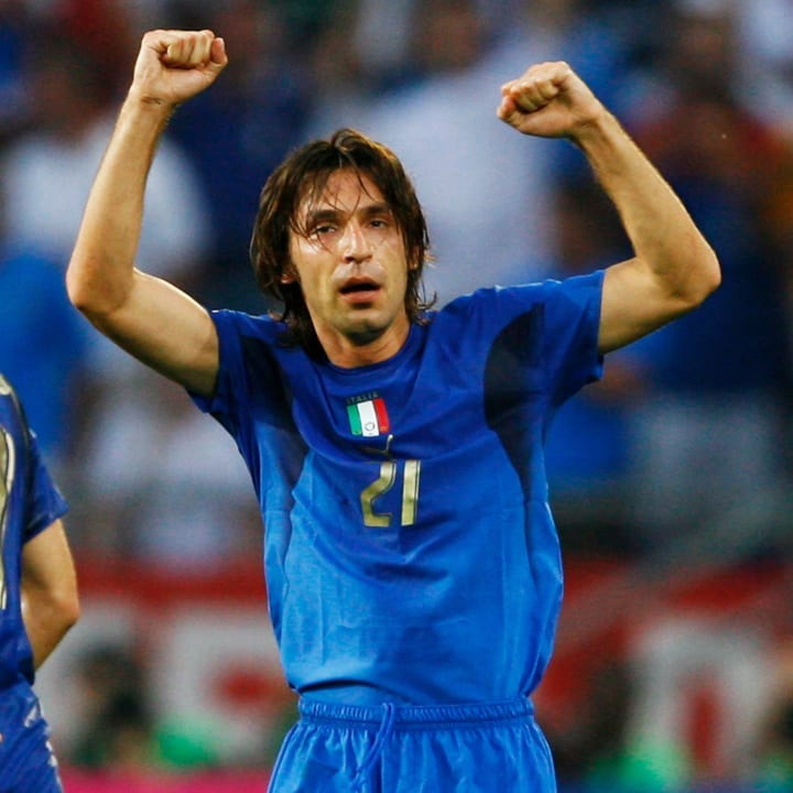 Group E Italy v Ghana - World Cup 2006