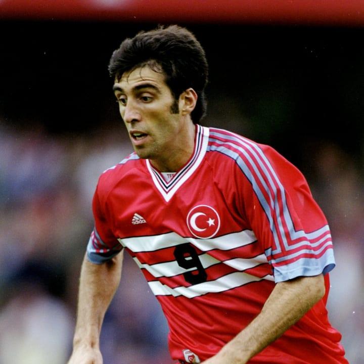 Hakan Suker of Turkey