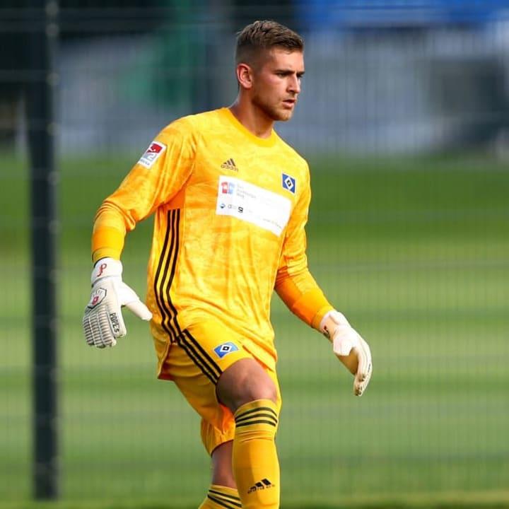 Ohne Zukunft beim HSV: Julian Pollersbeck