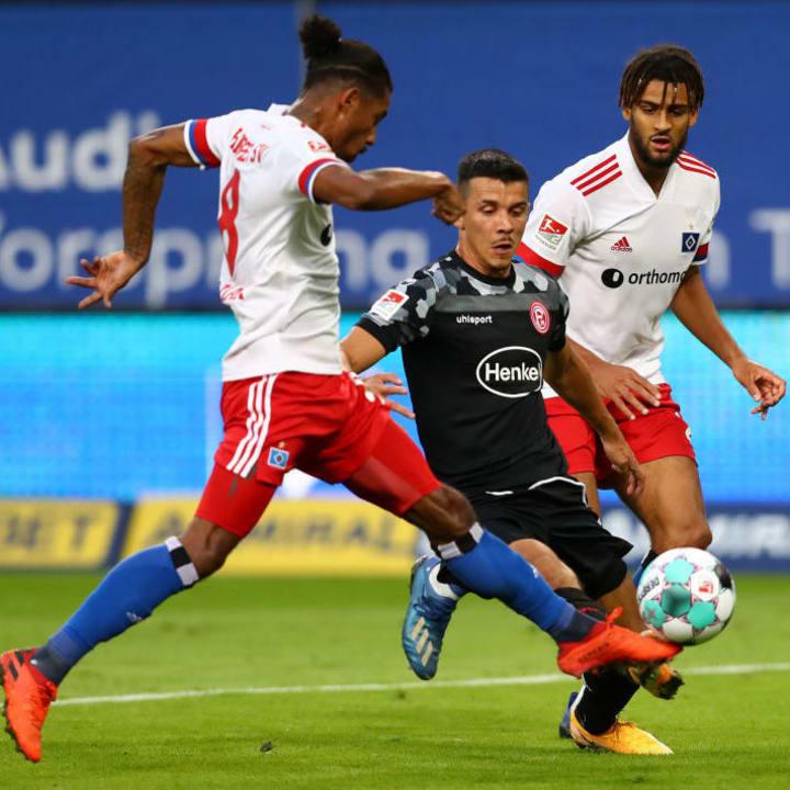 Jeremy Dudziak wird dem HSV im Spitzenspiel gegen Aue fehlen