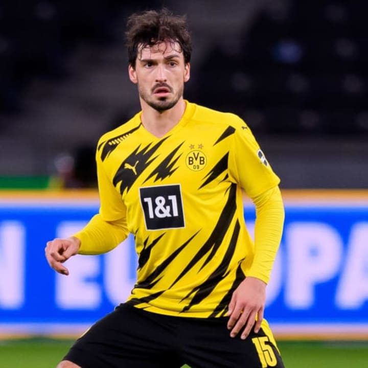 Mats Hummels re-joined Borussia Dortmund in 2019