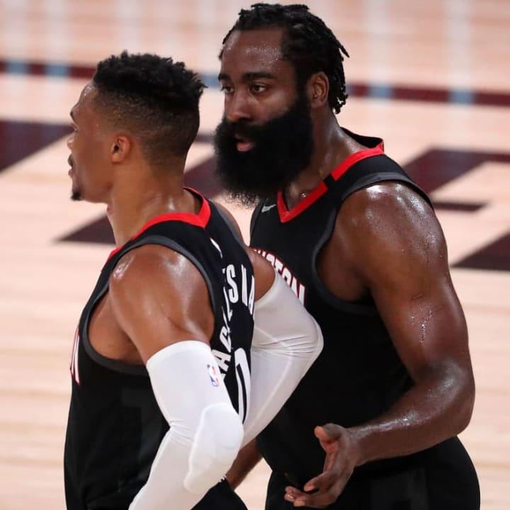 James Harden, Russell Westbrook, Houston Rockets
