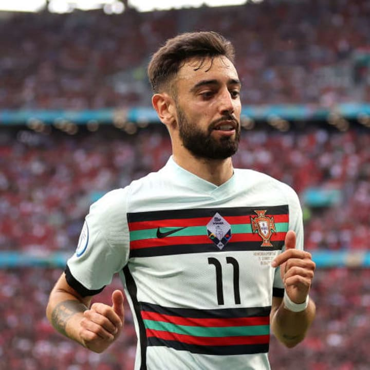Bruno Fernandes could be called back into the side