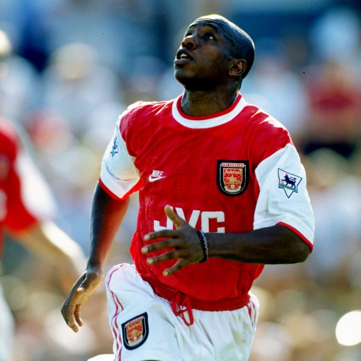 Ian Wright was the Gunners' all-time leading goalscorer at one point