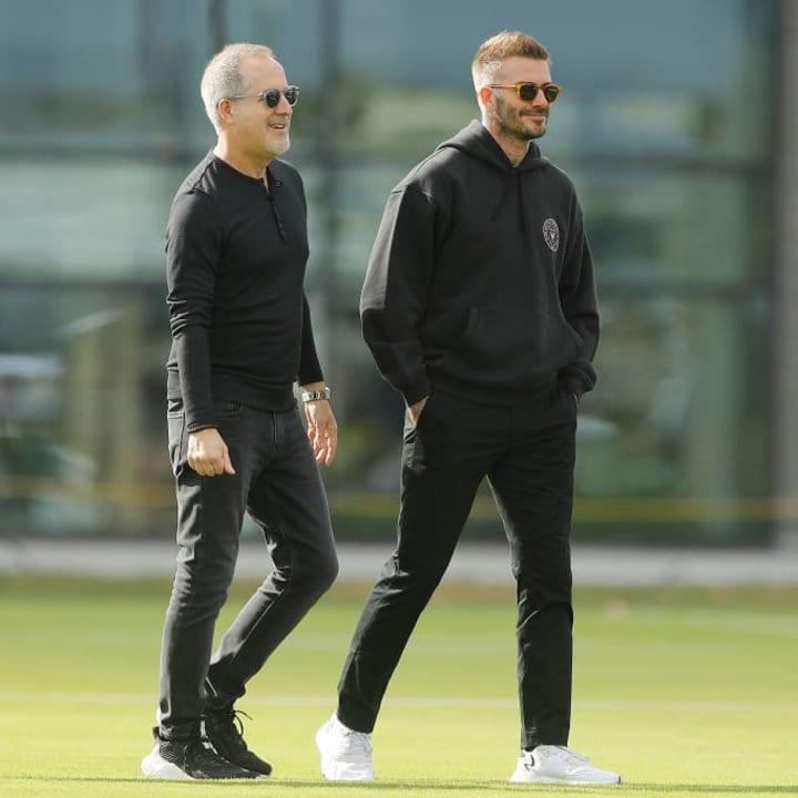 David Beckham, Jorge Mas