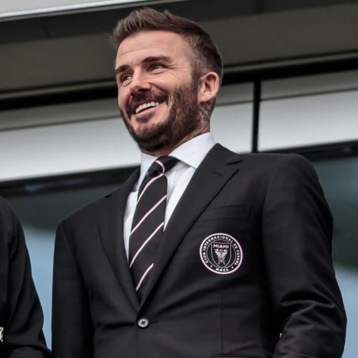 Beckham 'aspires' to bring big names to Inter Miami