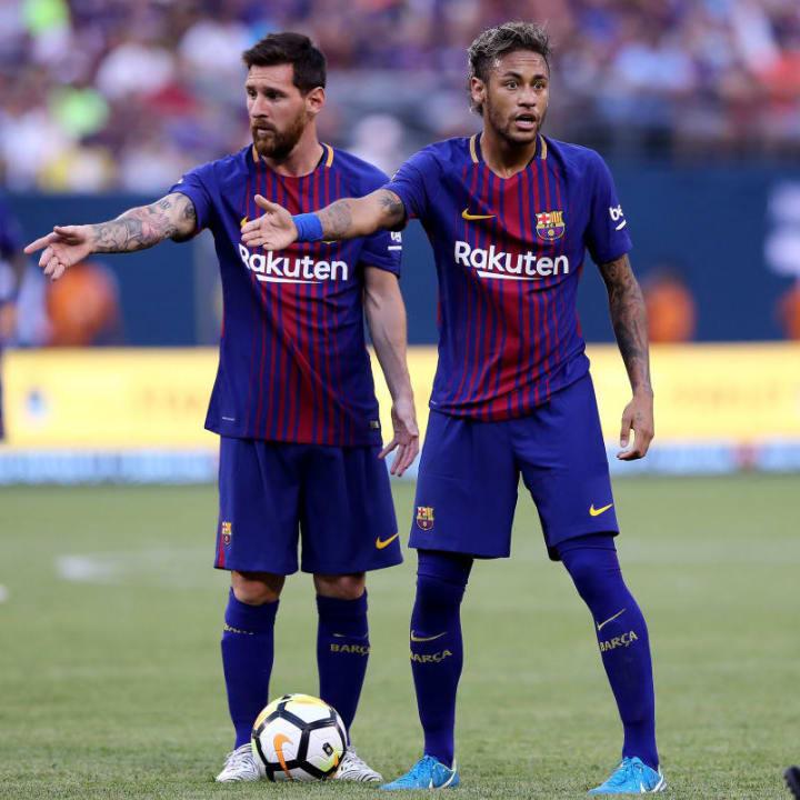 Lionel Messi, Neymar