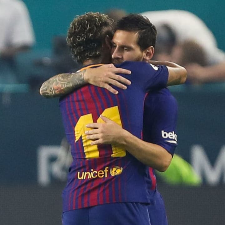 Could Messi be set to link up with Neymar once again?