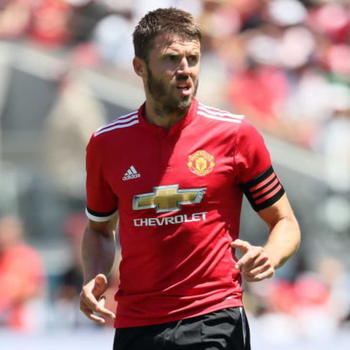 Michael Carrick - Manchester United captain