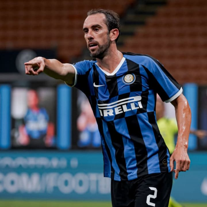 Godin made 36 appearances in all competitions in his first and only season with Inter Milan