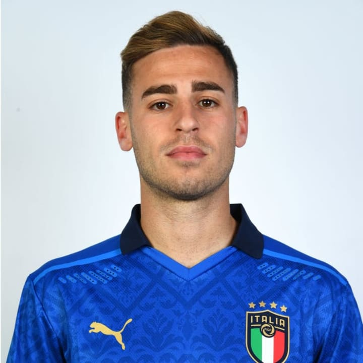 Matteo Ricci has been called up to the Italy squad for the first time