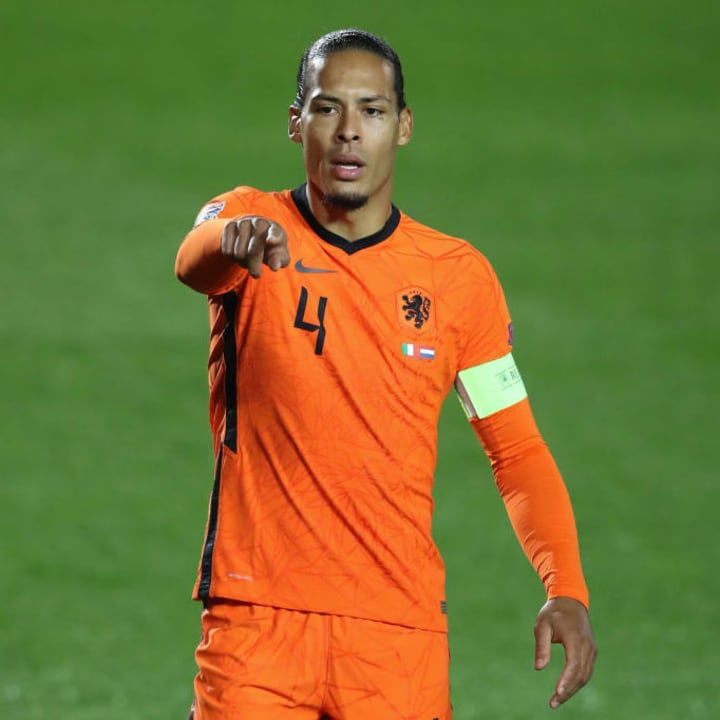 Netherlands are banking on Van Dijk being fit for Euro 2020