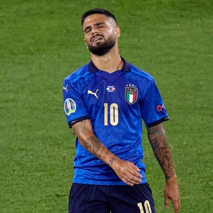 Lorenzo Insigne tidak bisa mencetak gol