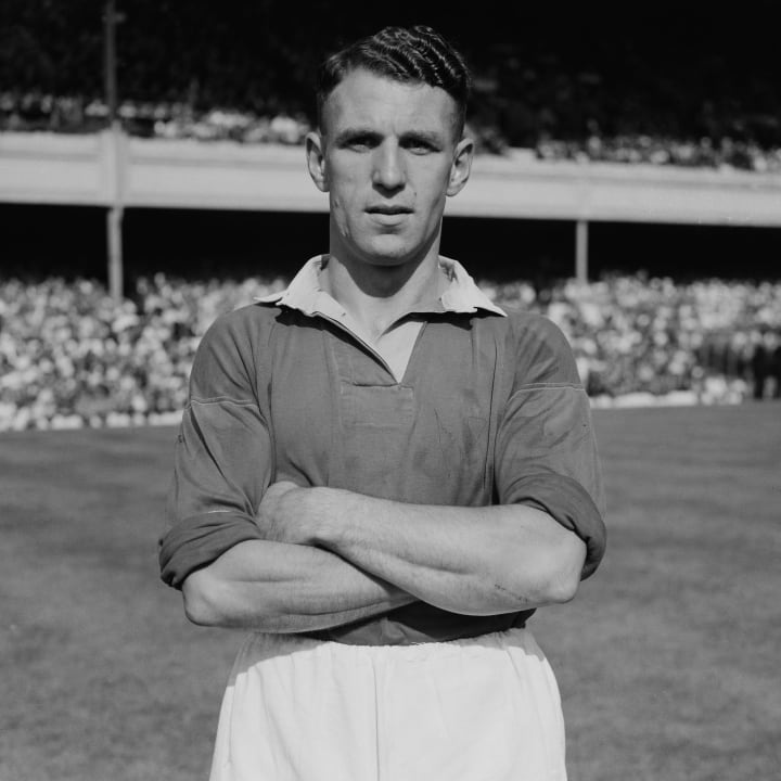 Jack Rowley was Man Utd's chief goal threat after WWII