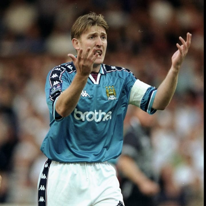 Jamie Pollock of Manchester City