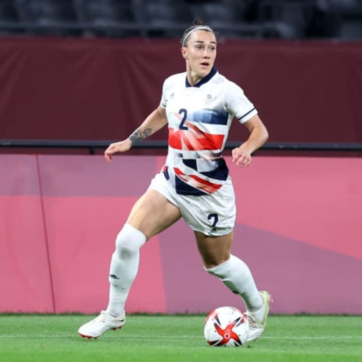 Lucy Bronze started at right-back