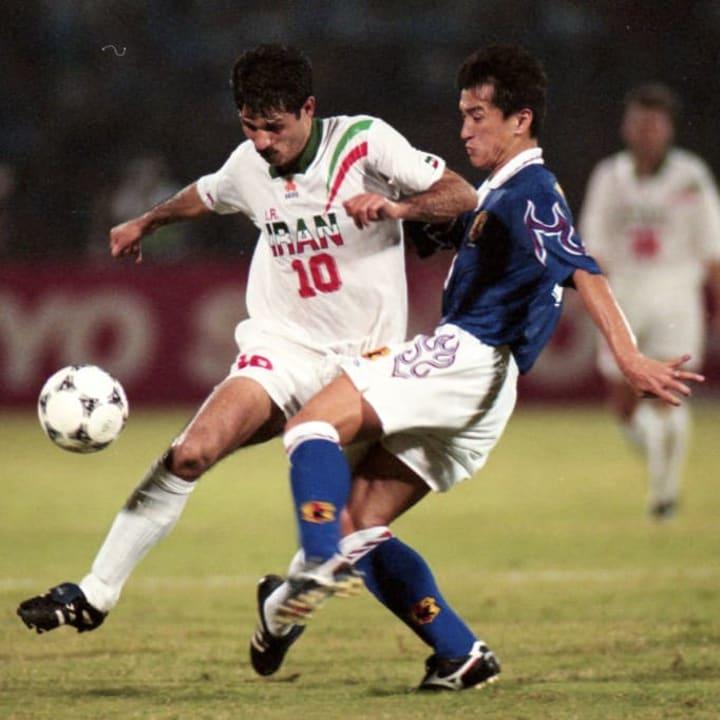 Ali Daei, Motohiro Yamaguchi