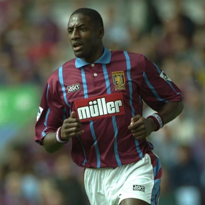 John Fashanu of Aston Villa