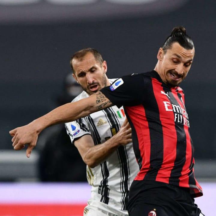 Zlatan Ibrahimovic, Giorgio Chiellini