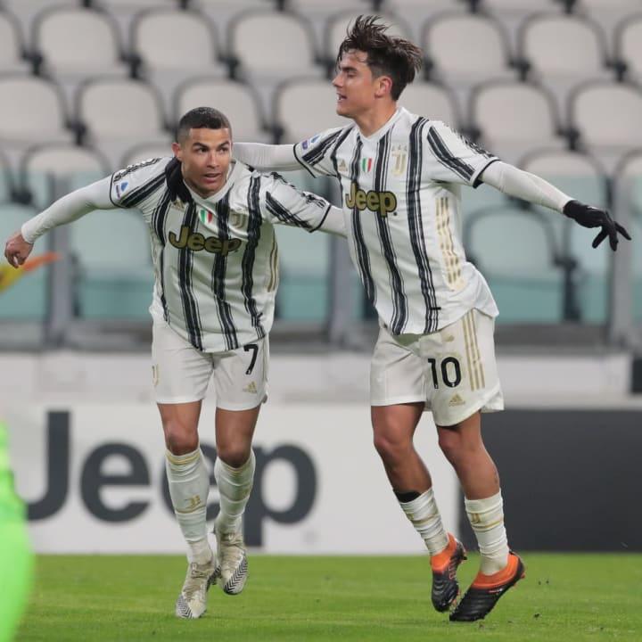 Ronaldo and Dybala struck up a good partnership together