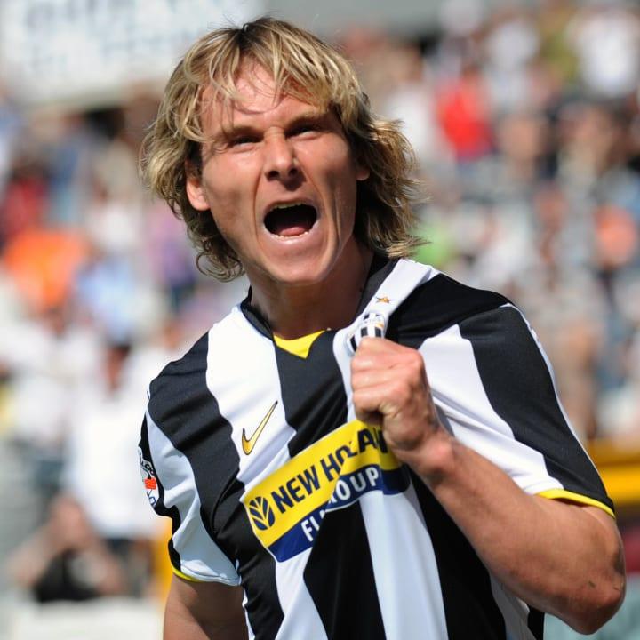 Juventus Czech midfielder Pavel Nedved c