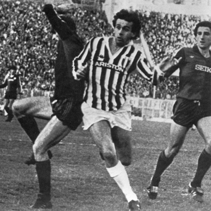 Michel Platini, Mario Faccenda, Giuseppe Corti