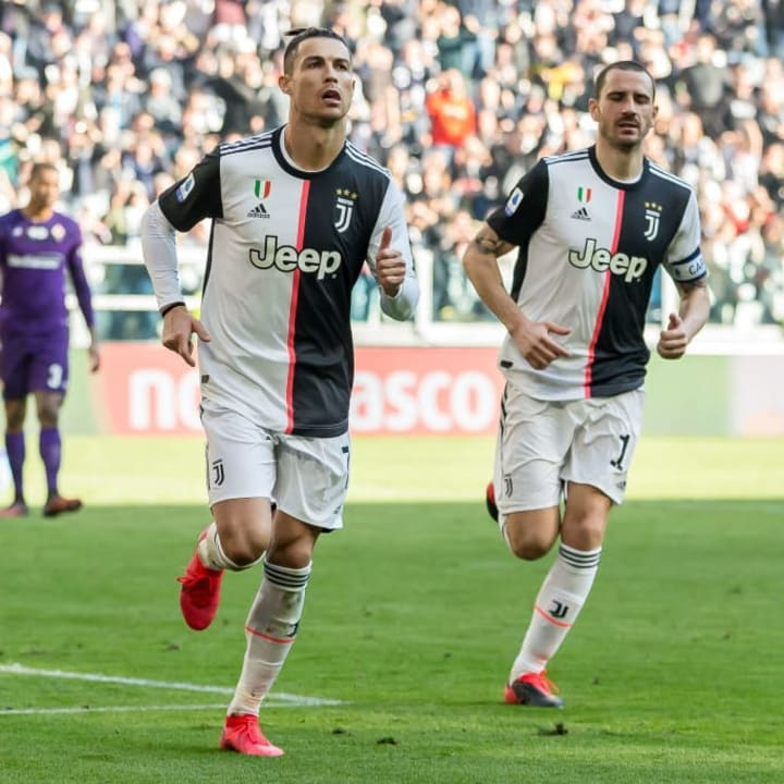 Christiano Ronaldo, Leonardo Bonucci