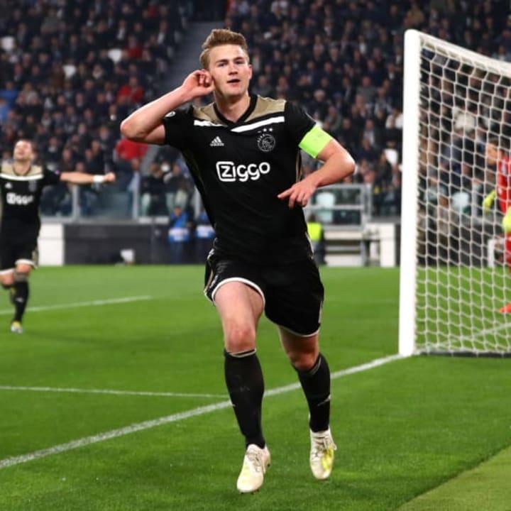 De Ligt led Ajax to the Champions League semi-finals in 2018/19