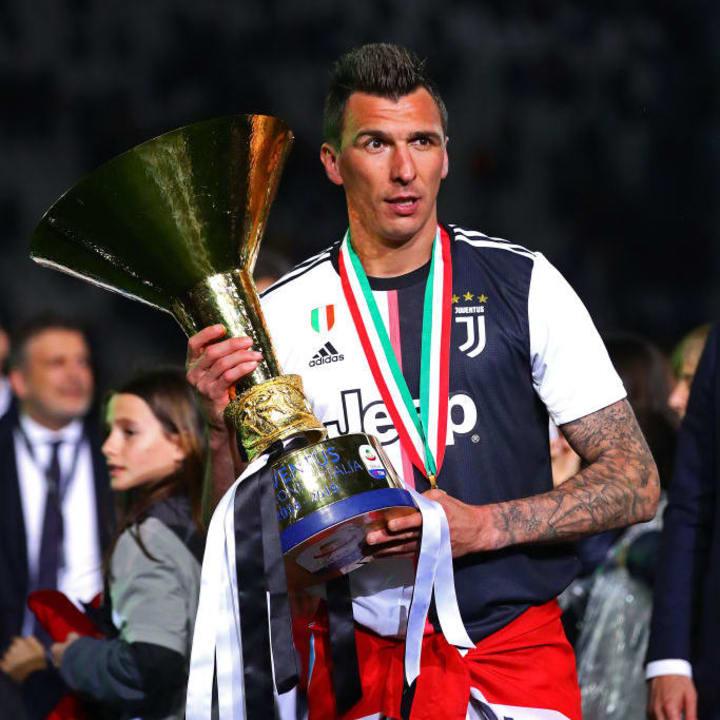 Mario Mandzukic during his time at Juventus