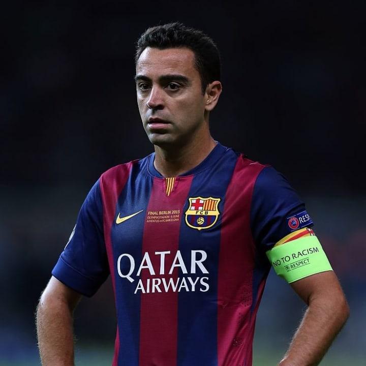 Xavi menikmati karir yang gemilang bersama Barcelona