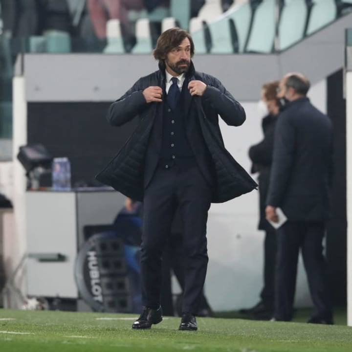 Andrea Pirlo is facing a crucial end-of-season run-in if he wants to save his job