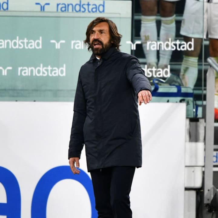 Andrea Pirlo's side are still fighting for a top four finish