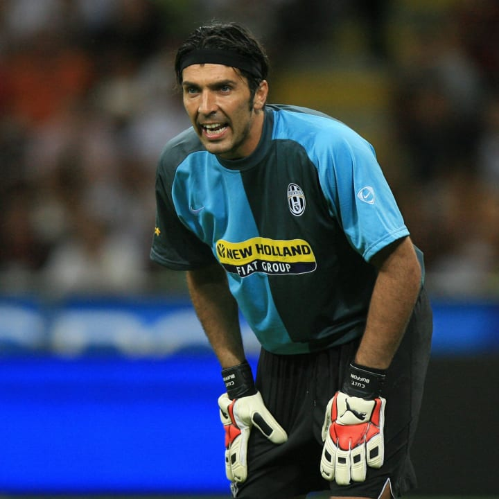 Juventus's goalkeeper Gianluigi Buffon g