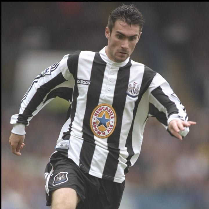 Keith Gillespie of Newcastle United