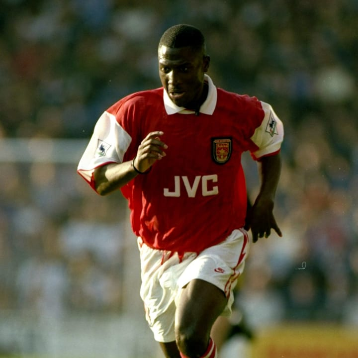 Kevin Campbell of Arsenal