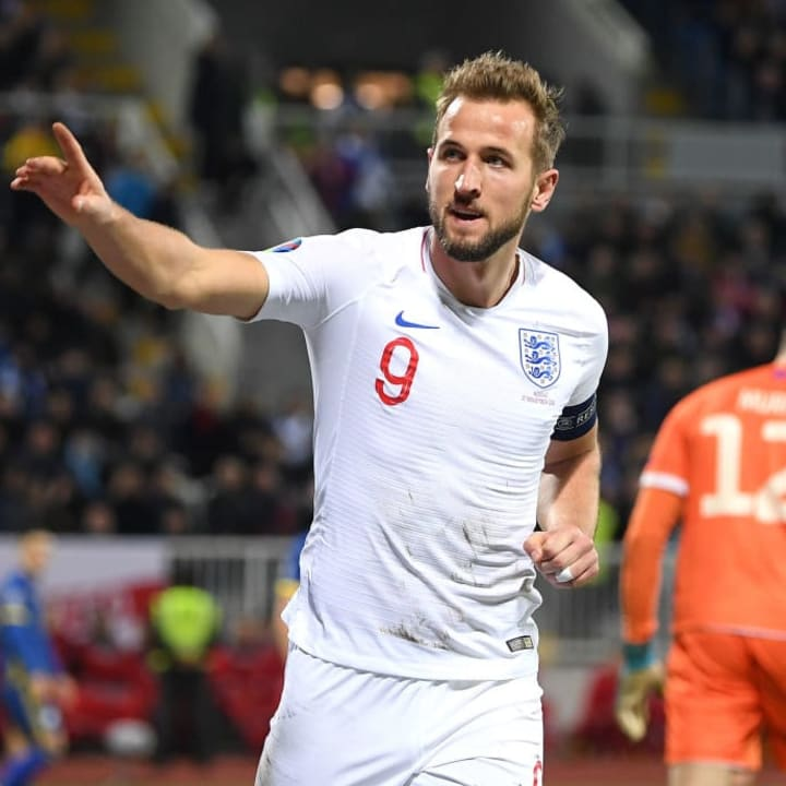 Kane is on track for international greatness as well