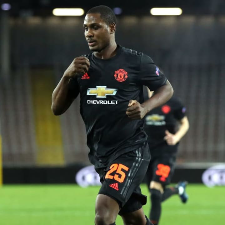 Ighalo realised a childhood dream playing for Man Utd