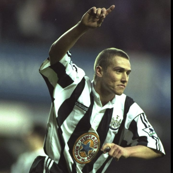 Lee Clark of Newcastle United