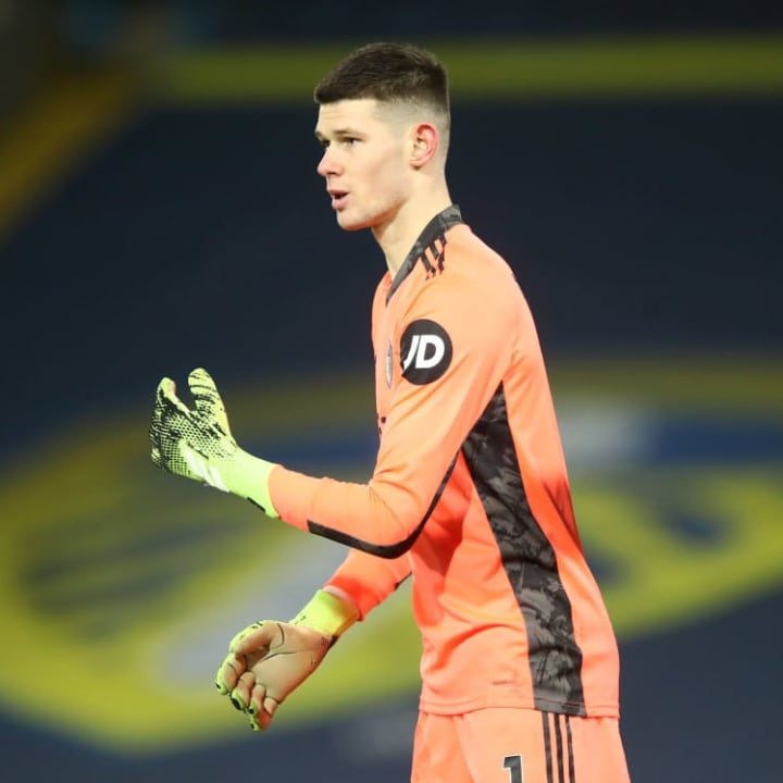 Illan Meslier retained his place between the sticks