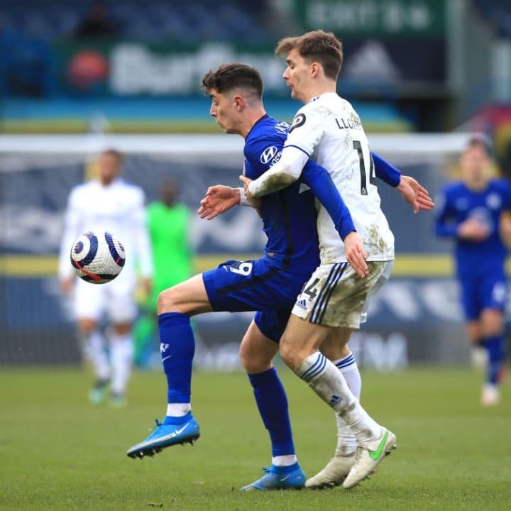 Kai Havertz's all-round game for Chelsea against Leeds was impressive