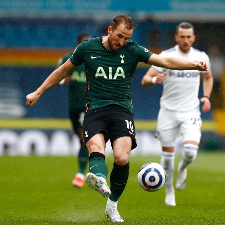 Harry Kane led the Spurs line