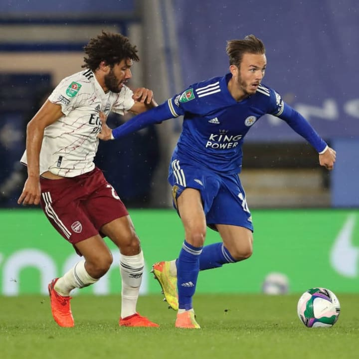 Mohamed Elneny, James Maddison