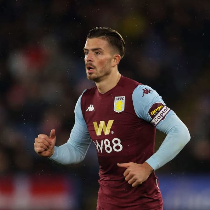Jack Grealish is one of Manchester United's main summer targets.