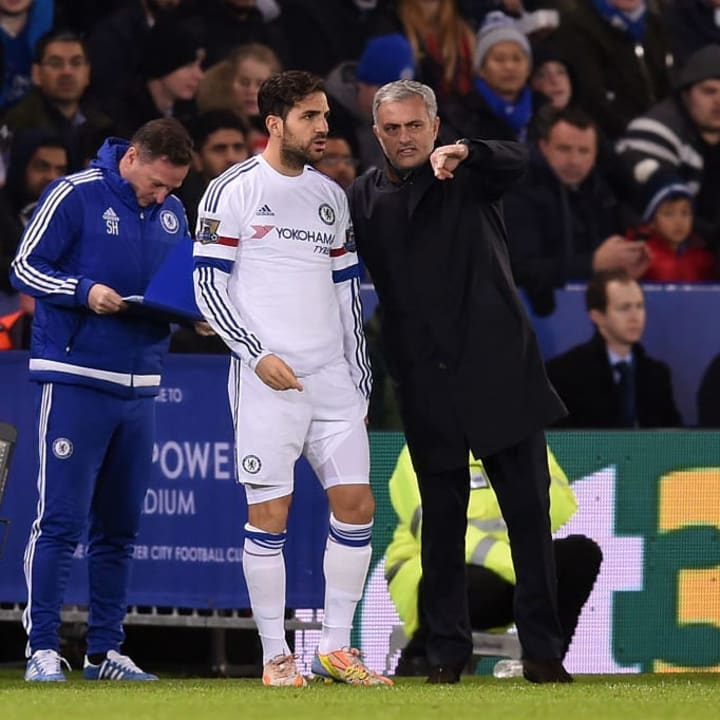 Fabregas has seen Jose Mourinho go through similar issues