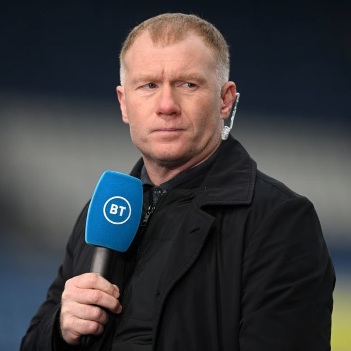 Paul Scholes has hit out at Man Utd's attacking players
